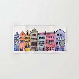 Rainbow Row – Charleston Hand & Bath Towel