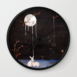 I'll Give You The Moon Panel 2 Wall Clock