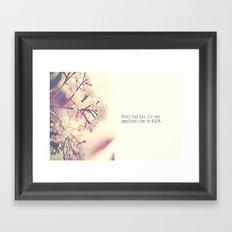 Appointed Bloom Framed Art Print