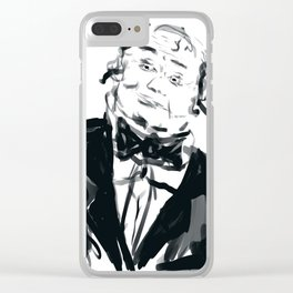 A very jolly waiter!! Clear iPhone Case