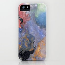 Nebula Rasa iPhone Case