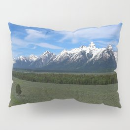 Beautiful Wyoming Landscape Pillow Sham