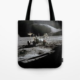 Apollo 15 - Moonwalk 1971 Tote Bag