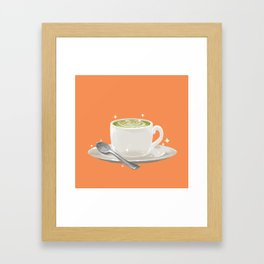 Matcha Latte Framed Art Print