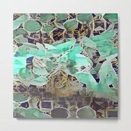 Tiled Abstract 11 Metal Print