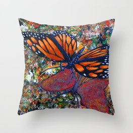 Butterfly-7 Throw Pillow