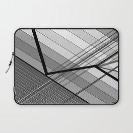 Gray Geometry 2 Laptop Sleeve