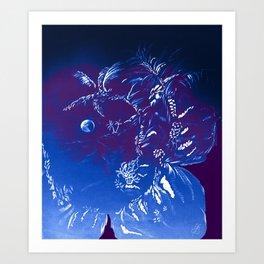 Moon Island Art Print