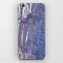 Rhythm abstract watercolor iPhone Skin