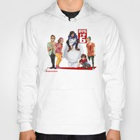 1d Hoodies featuring Big 1D 6! by justsomestuff