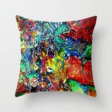 The Van Gogh Tree Throw Pillow