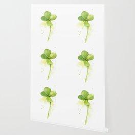 Four Leaf Clover Lucky Charm Wallpaper