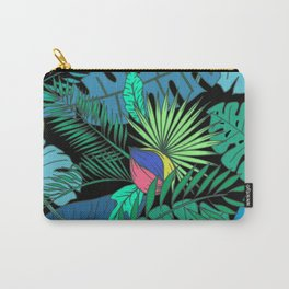 TROPICAL GARDEN B (abstract) Carry-All Pouch