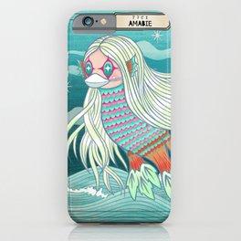 Amabie 2020 Healing Spirit iPhone Case