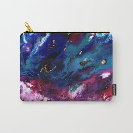 Brendon Urie abstract synesthetic painting Carry-All Pouch