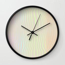 Stripes III Wall Clock