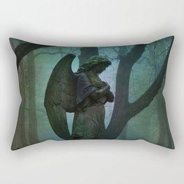 Waiting in Silence Rectangular Pillow