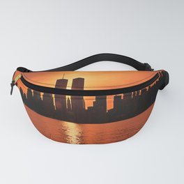 Twin Towers Summer Sky Fanny Pack