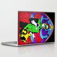 religion Laptop & iPad Skins featuring heroic religion by Flo Zero