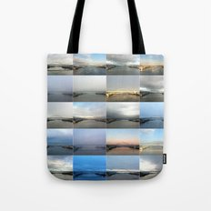 The Many Faces of the Fremont Bridge Tote Bag
