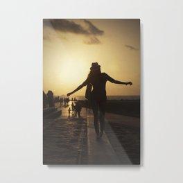 Sunset dance #2 Metal Print