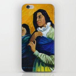 The Daughters of the Earth that Never Forgets Las Hijas de la Tierra que Nunca Olvida iPhone Skin