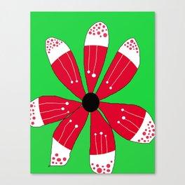 FLOWERY BRITTAS / ORIGINAL DANISH DESIGN bykazandholly Canvas Print