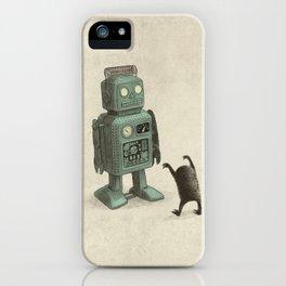 Robot Vs Alien iPhone Case