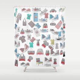 Sharky co Shower Curtain