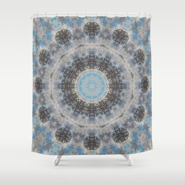 SNOWFLAKES - I Shower Curtain