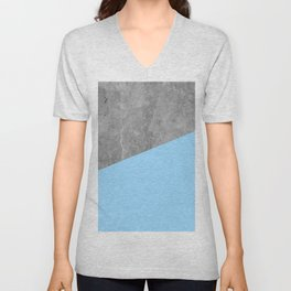 Geometry 101 Blue Raspberry Unisex V-Neck