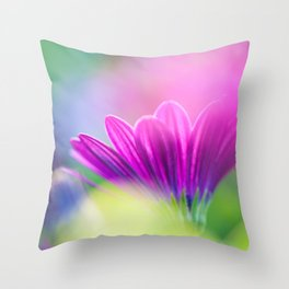 be inspired, creative and in love Throw Pillow