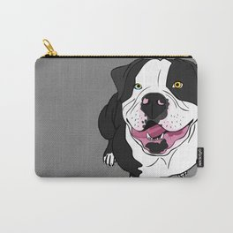 Bubba, the American Bulldog Carry-All Pouch