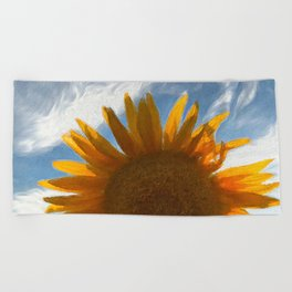 in love with summer Beach Towel