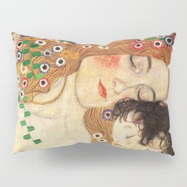 Mother and Baby - Gustav Klimt Pillow Sham
