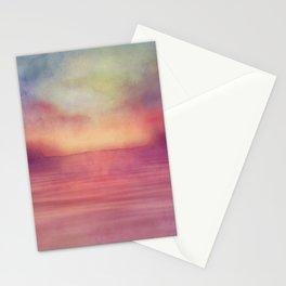 Minimal seascape 04 Stationery Cards