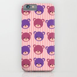 Bears cute wallpaper iPhone Case