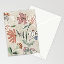 Monday Floral Stationery Cards