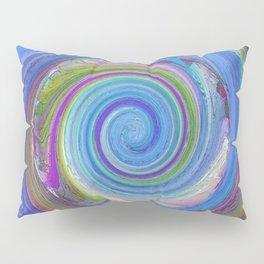 256 - Spiral abstract design Pillow Sham