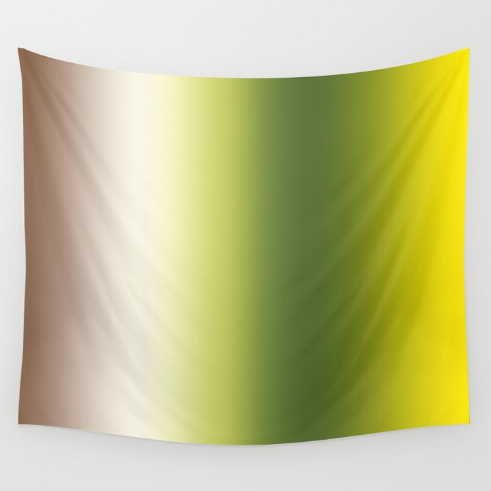 Ombre Shades of Green 1 Reversed Wall Tapestry