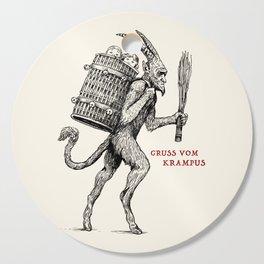 Gruss vom Krampus Cutting Board