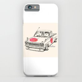 Crazy Car Art 0169 iPhone Case
