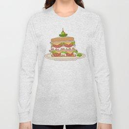 Sloppy Sandwich Long Sleeve T-shirt