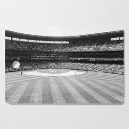 Safeco Field in Seattle Washington - Mariners baseball stadium in black and white Cutting Board