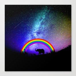 Rainbow Migration Canvas Print