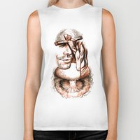 apocalypse now Biker Tanks featuring Apocalypse kiss by Salgood Sam