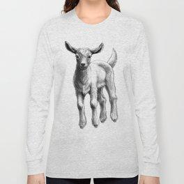 White Goat Baby SK133 Long Sleeve T-shirt