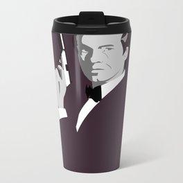 James Bond - Pierce Brosnan Metal Travel Mug