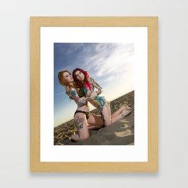 Candice Alice & Airica Michelle Framed Art Print