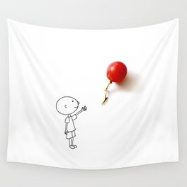 Grape balloon Wall Tapestry
